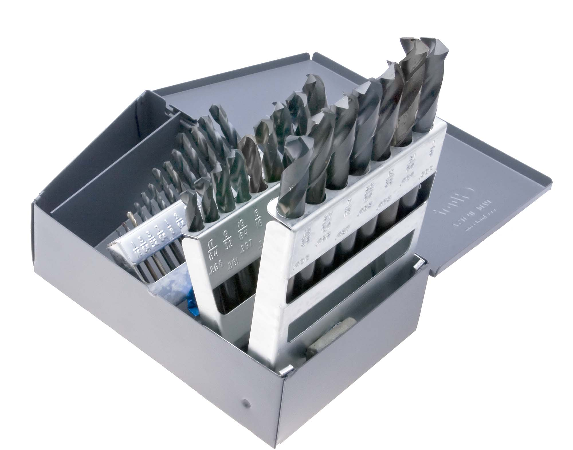 1/16-1/2 by 64th Screw Mach Drill Set