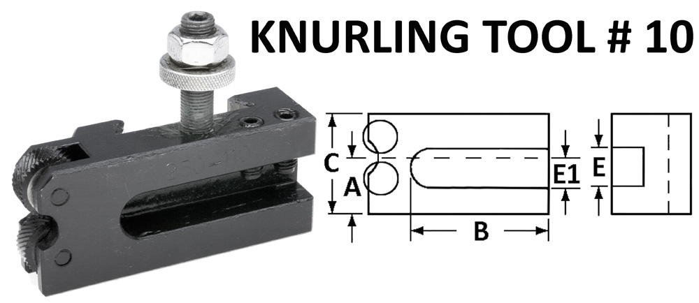 # 10 Knurling Holder-200 SERIES