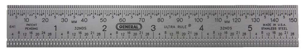 "General 641 6"" Ultra Rule"