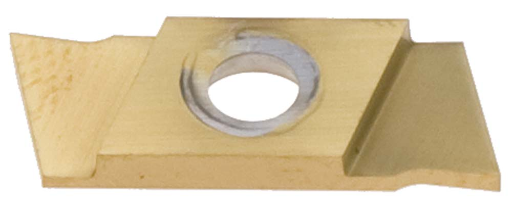 "Nikcole GP-2.0-L-L .078""/2.0mm TIN Groove+ Cut-Off Insert. Mini grooving system."