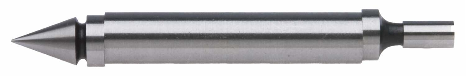 """EF-135 Double End Edge Finder, 3/8"""" body, with pointed tip and .2"""" straight tip"""
