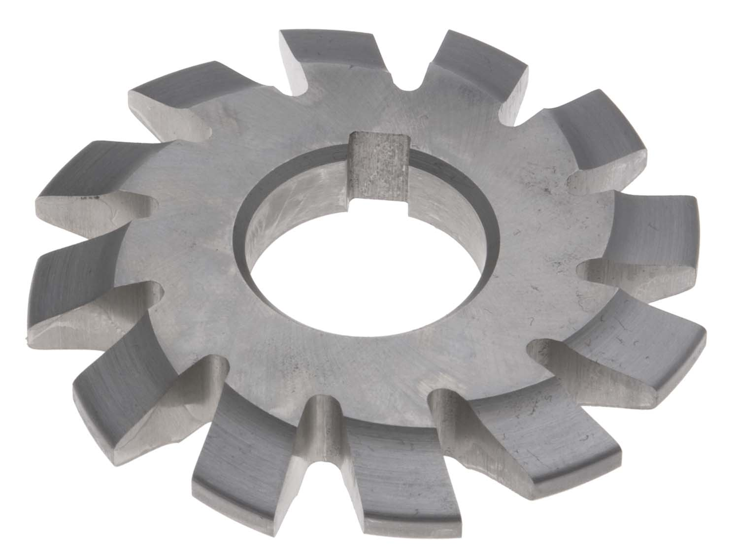 8 Diametral Pitch # 4 Involute Gear Cutter - 1 Inch ID - 14-1/2 Degree Pressure Angle