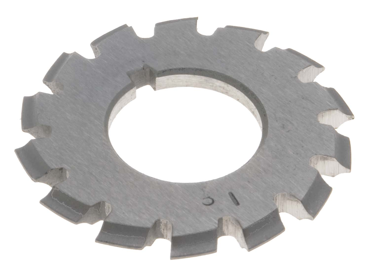 24 Diametral Pitch # 8 Involute Gear Cutter - 1 Inch ID - 14-1/2 Degree Pressure Angle