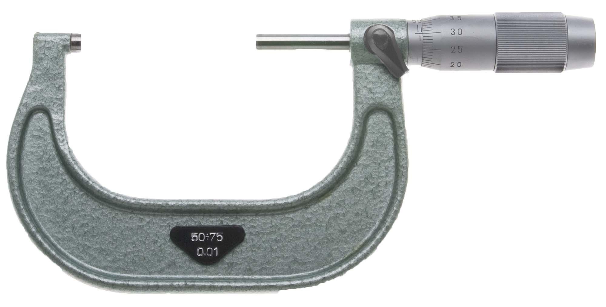 50-75mm VIS Outside Micrometer