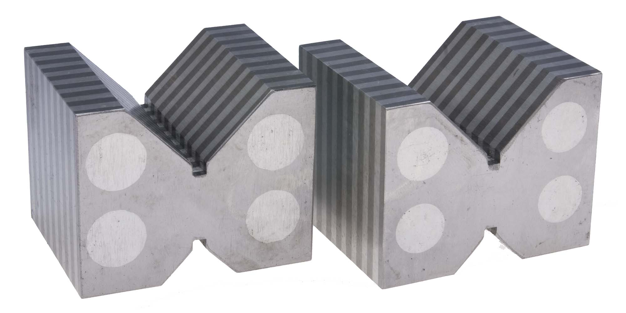 Magnetic Chuck Vee Blocks Pair -USA