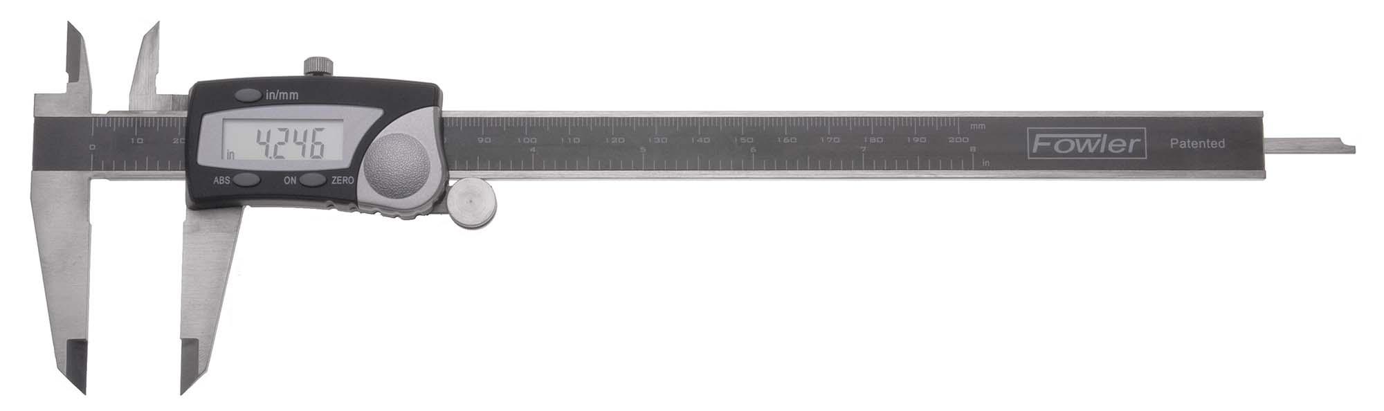 "Fowler 54-100-008 0-8"" Electronic Caliper"