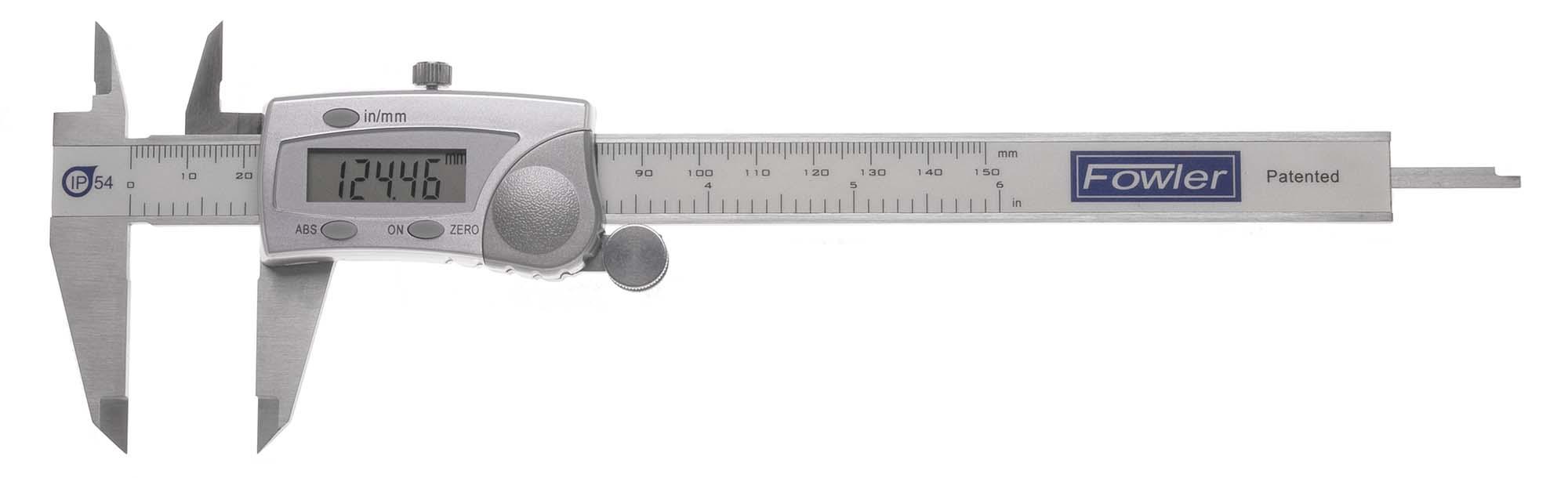 0-6 in. IP54 Fowler Electronic Caliper