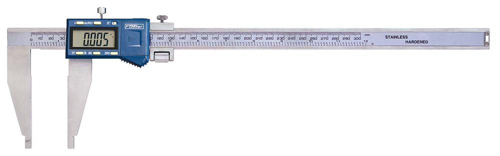 0-12 in. Fowler Long Range Electronic Caliper