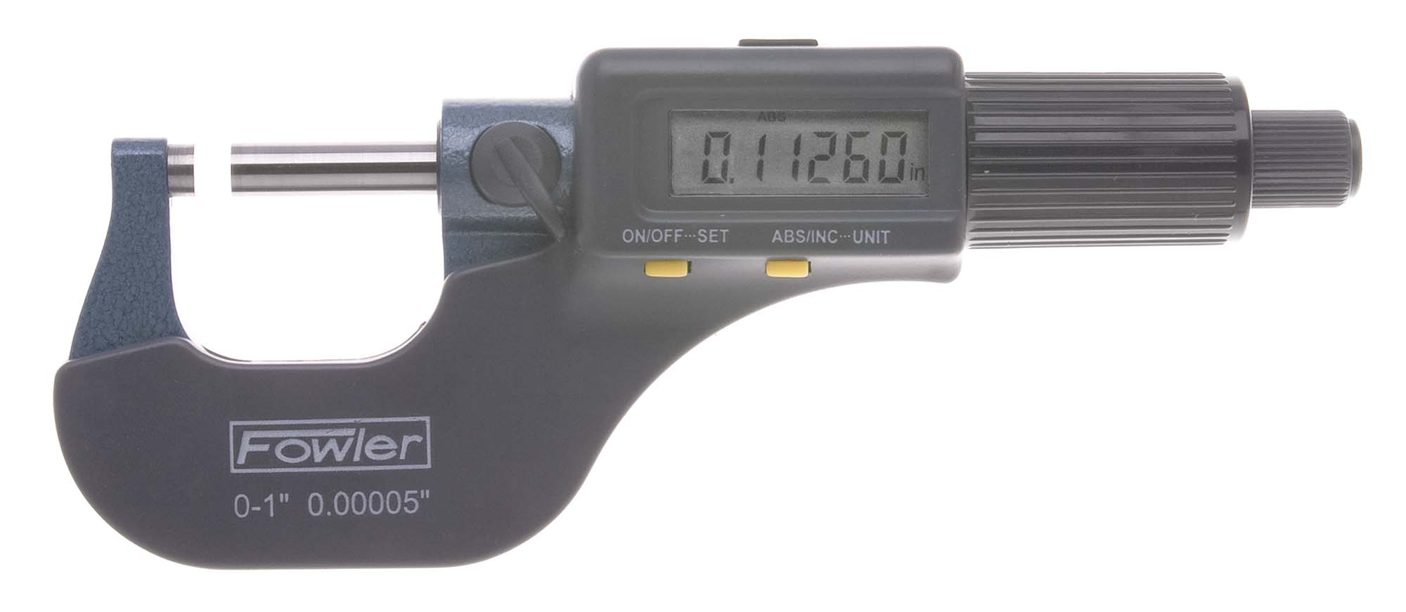 0-3in. Set of Fowler Electronic Micrometers - IP54