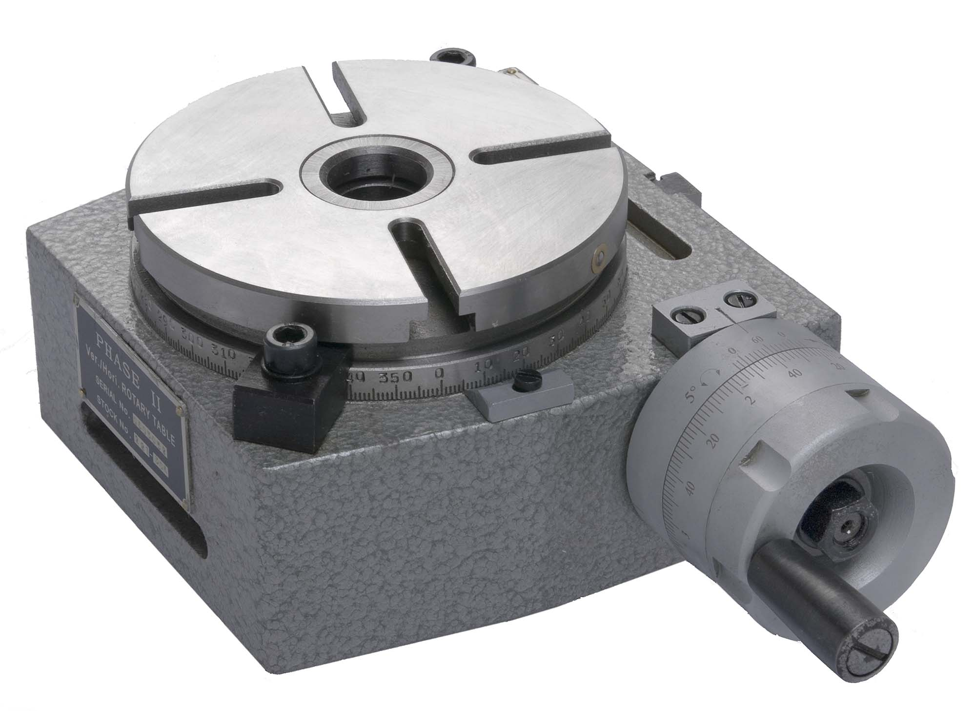 Phase II Precision Rotary Table - 4 Inch