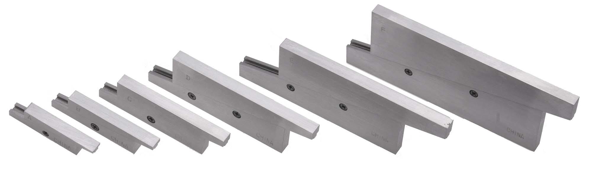 "PPA-66C  3/8 - 2-1/4"" - 6 Piece Adjustable Parallel Set"