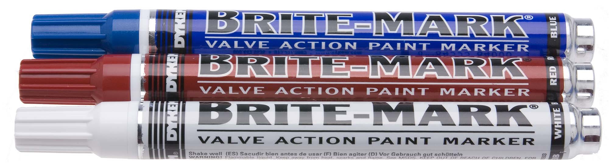 Dykem White Brite-Mark Marker