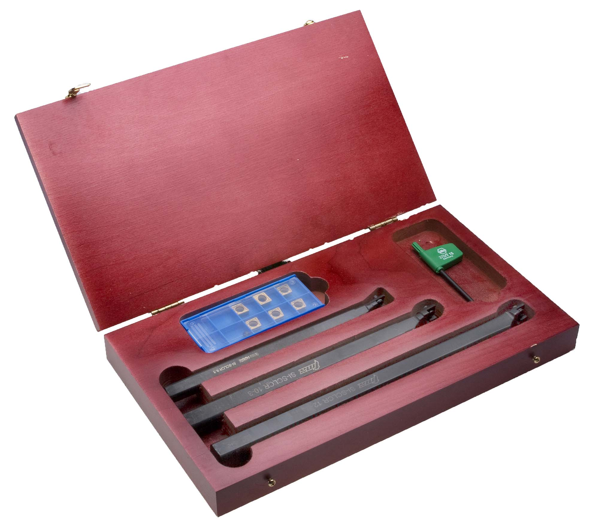 "TMX 6-870-510 SI-SCLCR Indexable Boring Bar Set - 1/2"" , 5/8"" , 3/4"" bars"