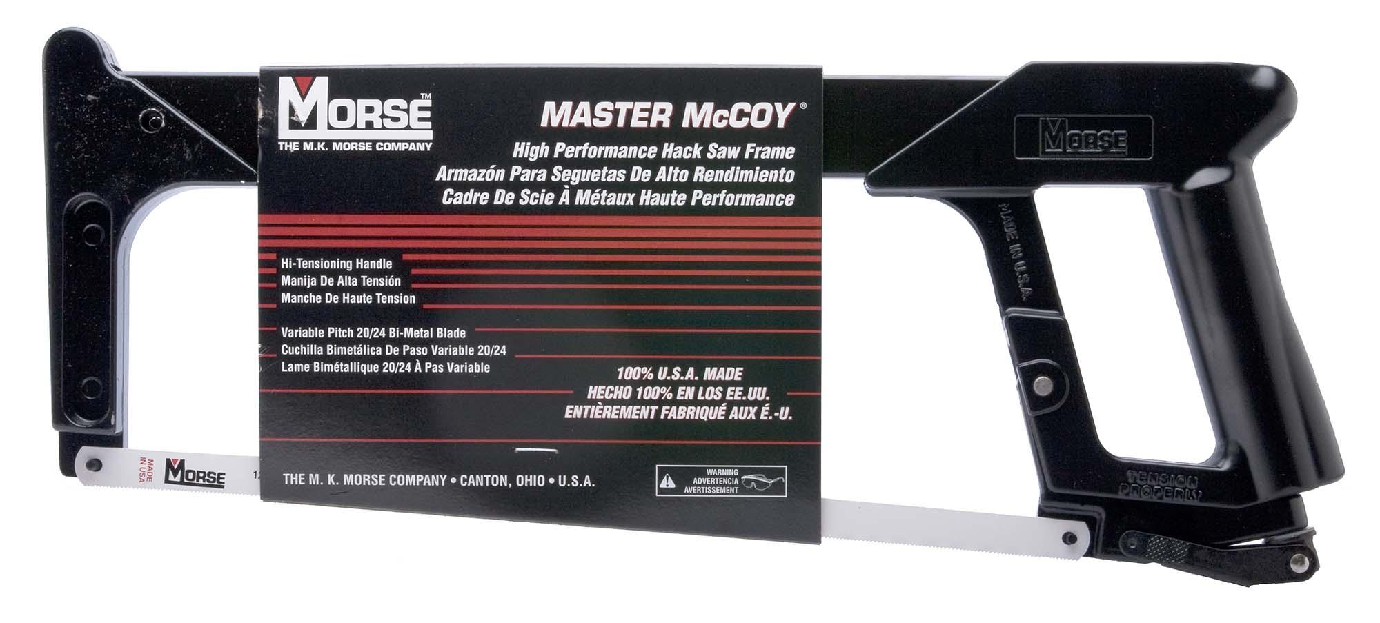 Morse Hi Tension Hacksaw Frame