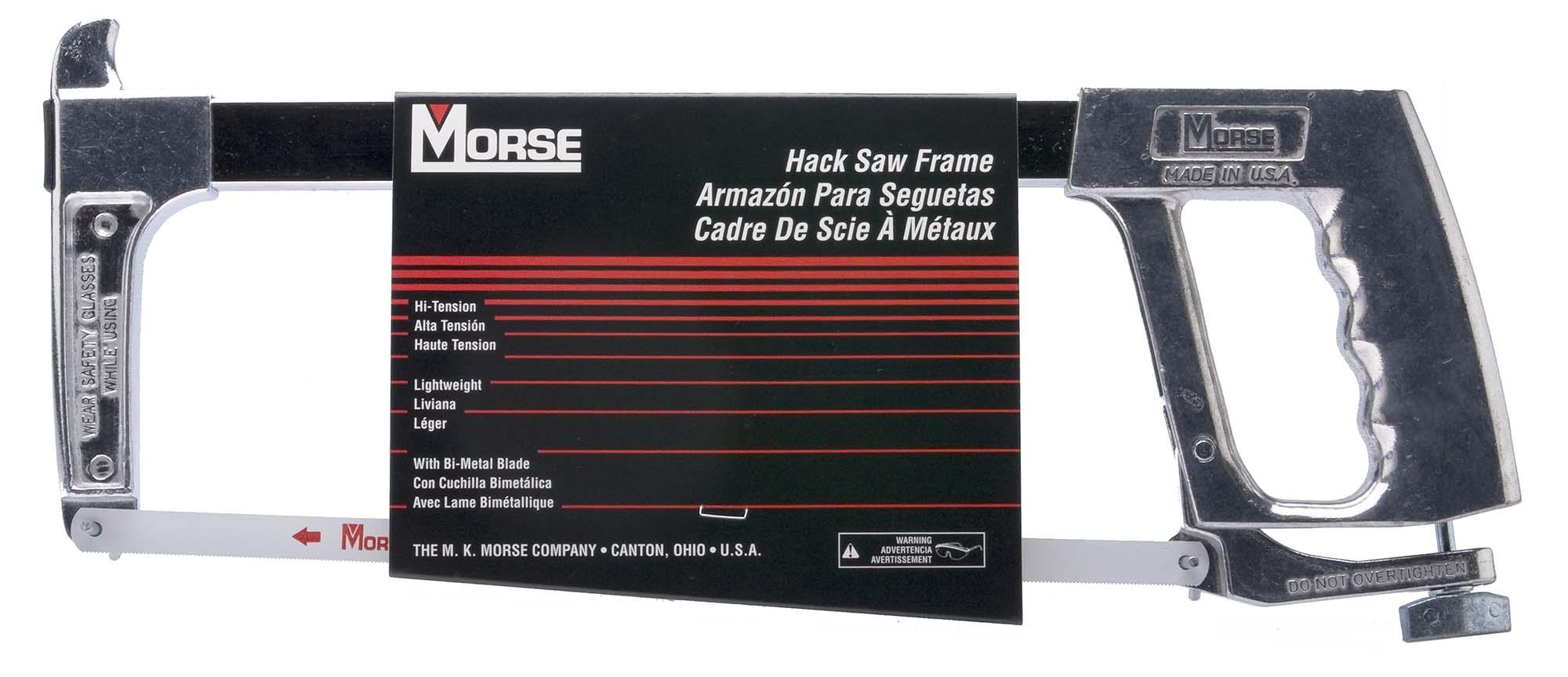 Morse Lightweight Hi Tension Hacksaw Frame