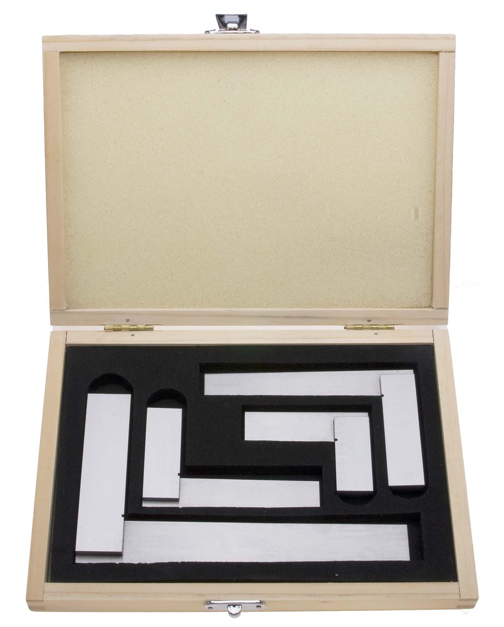 Premium Square Set in Wood Case