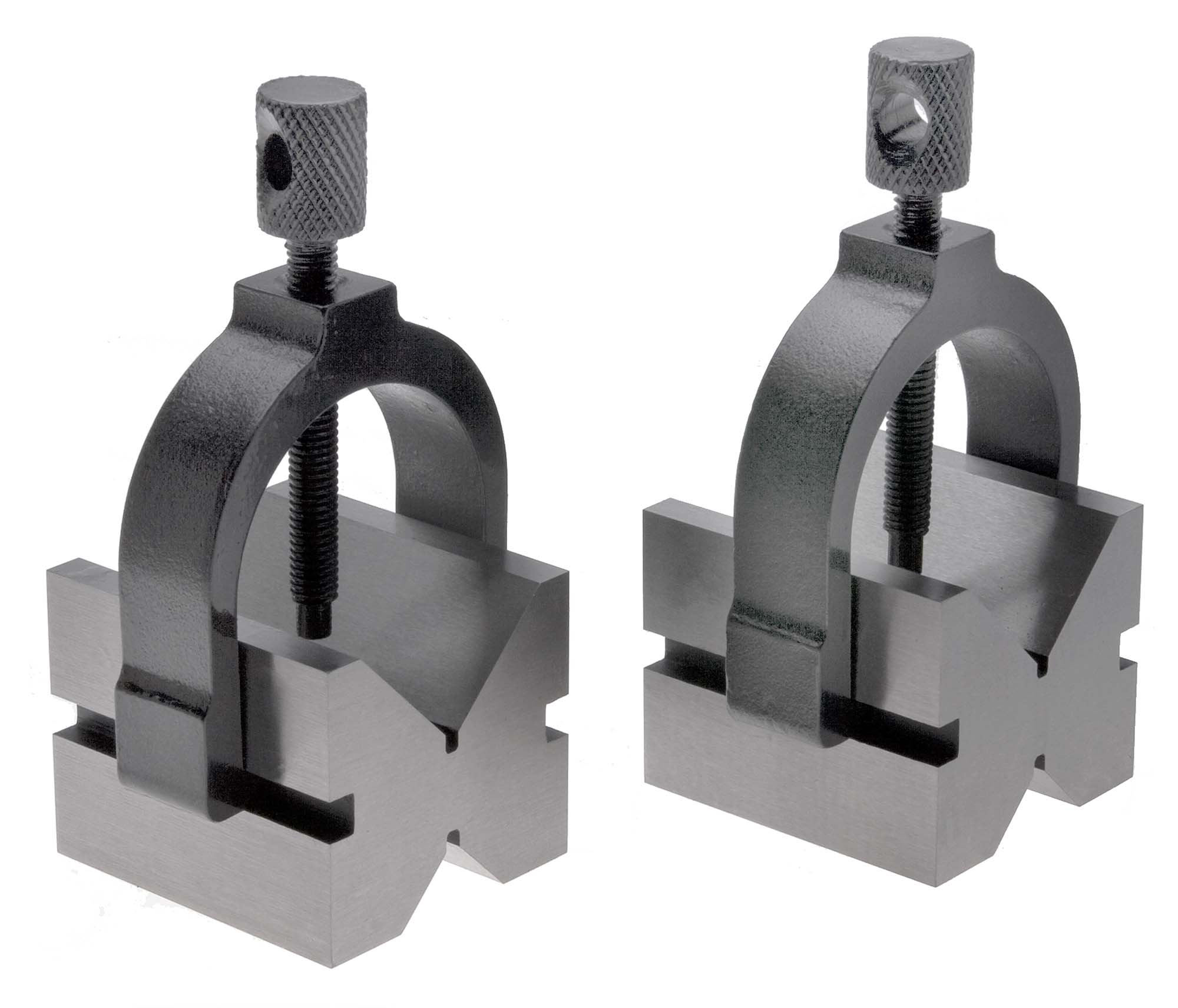 "TMX 2-476-010  1-1/2"" Capacity Precision V Block and Clamp Pair"