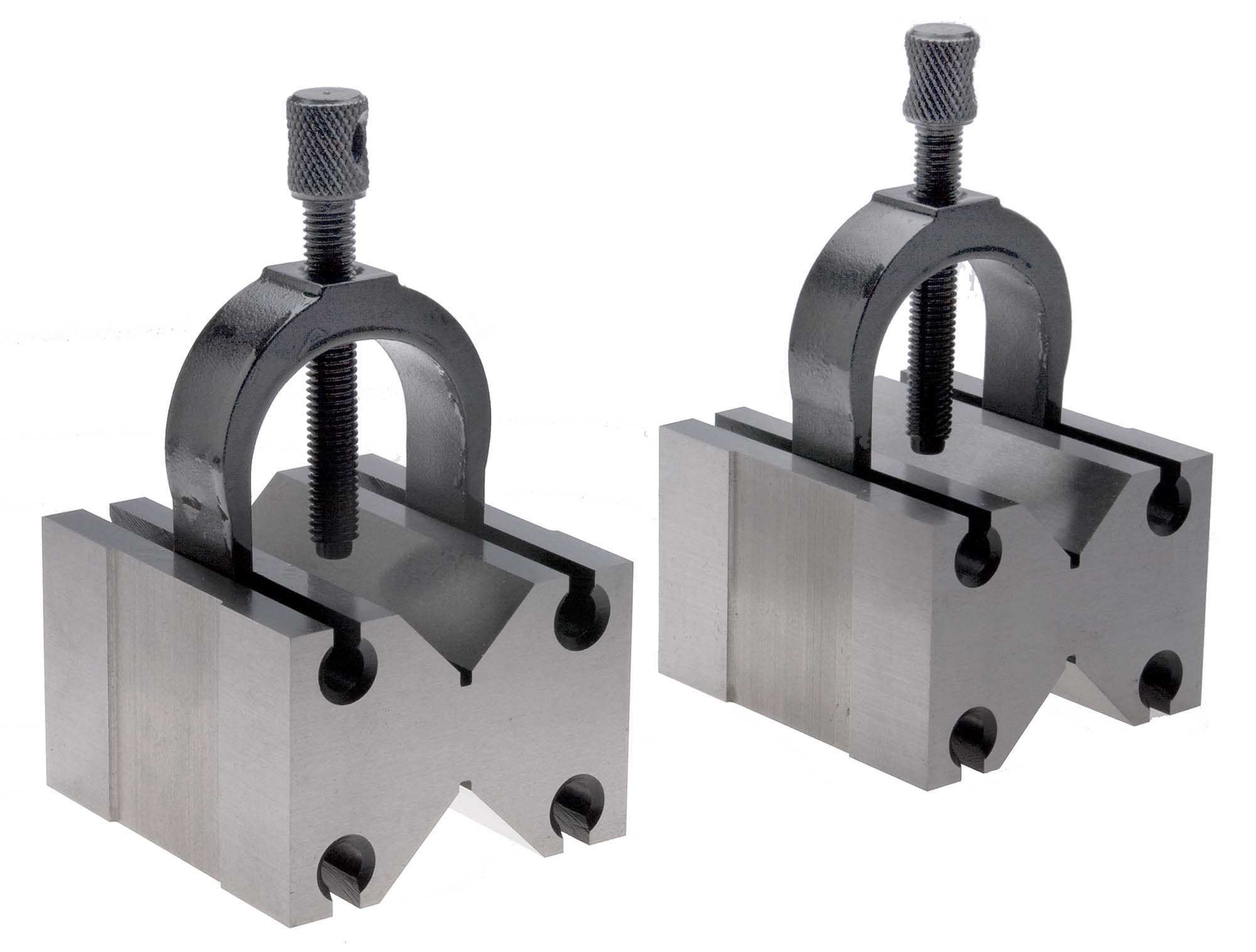 "TMX 2-476-015  1-1/2"" Capacity Precision V Block and Clamp Pair"
