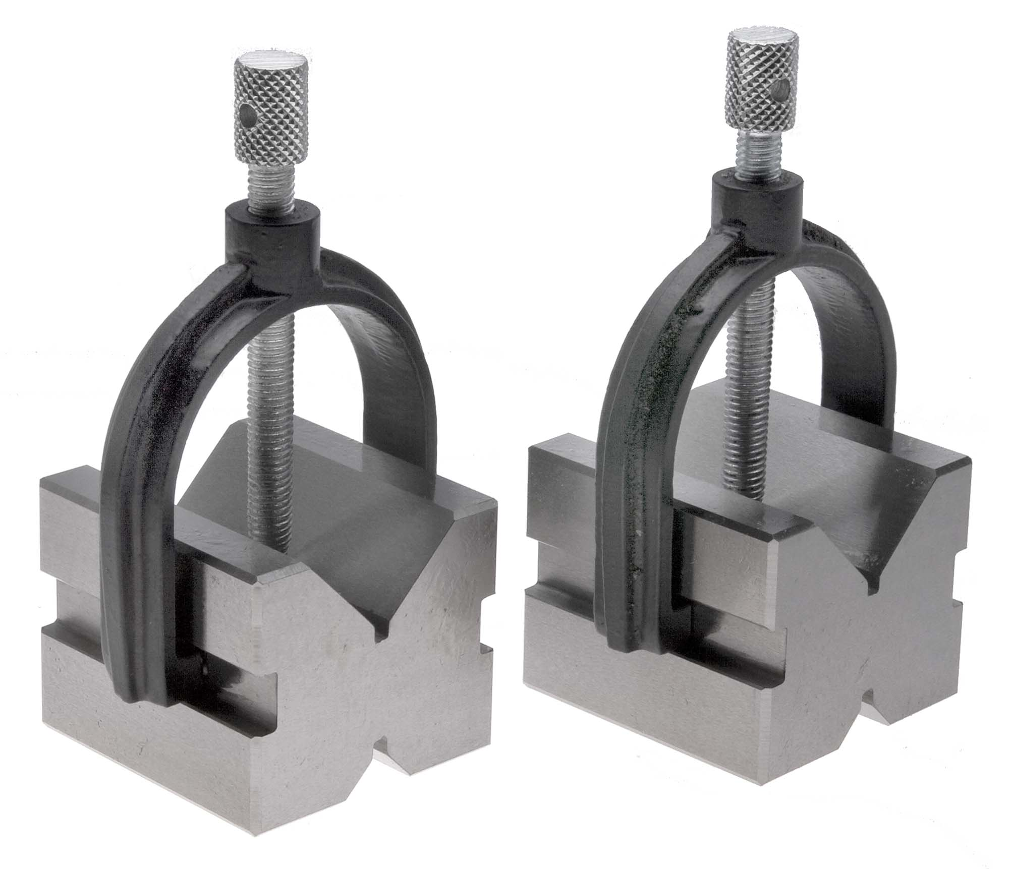 "VME VB-1  1"" Capacity V Block and Clamp Pair - 1-5/8"" wide"
