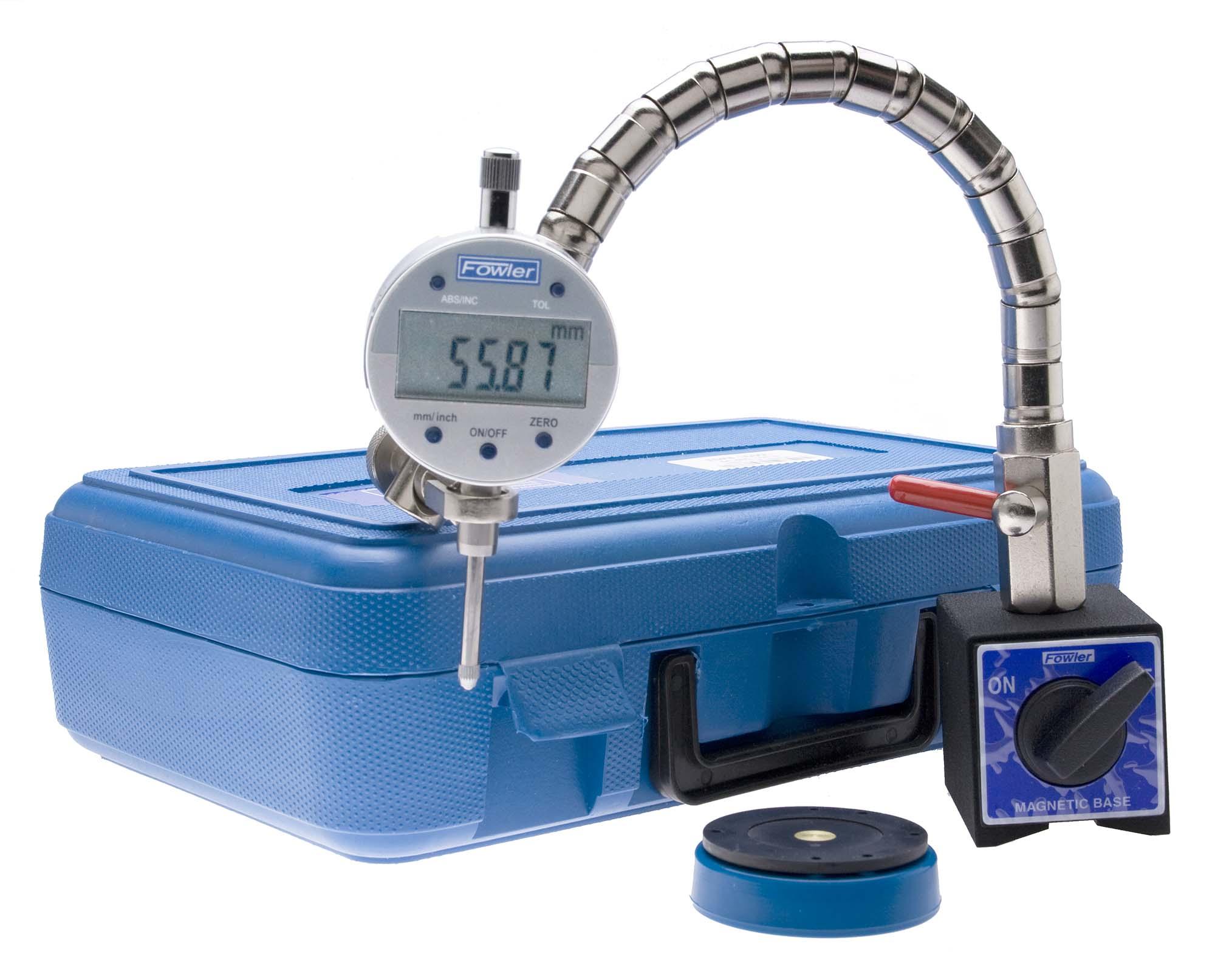 Fowler Indi-X-Blue Indicator Set with Base