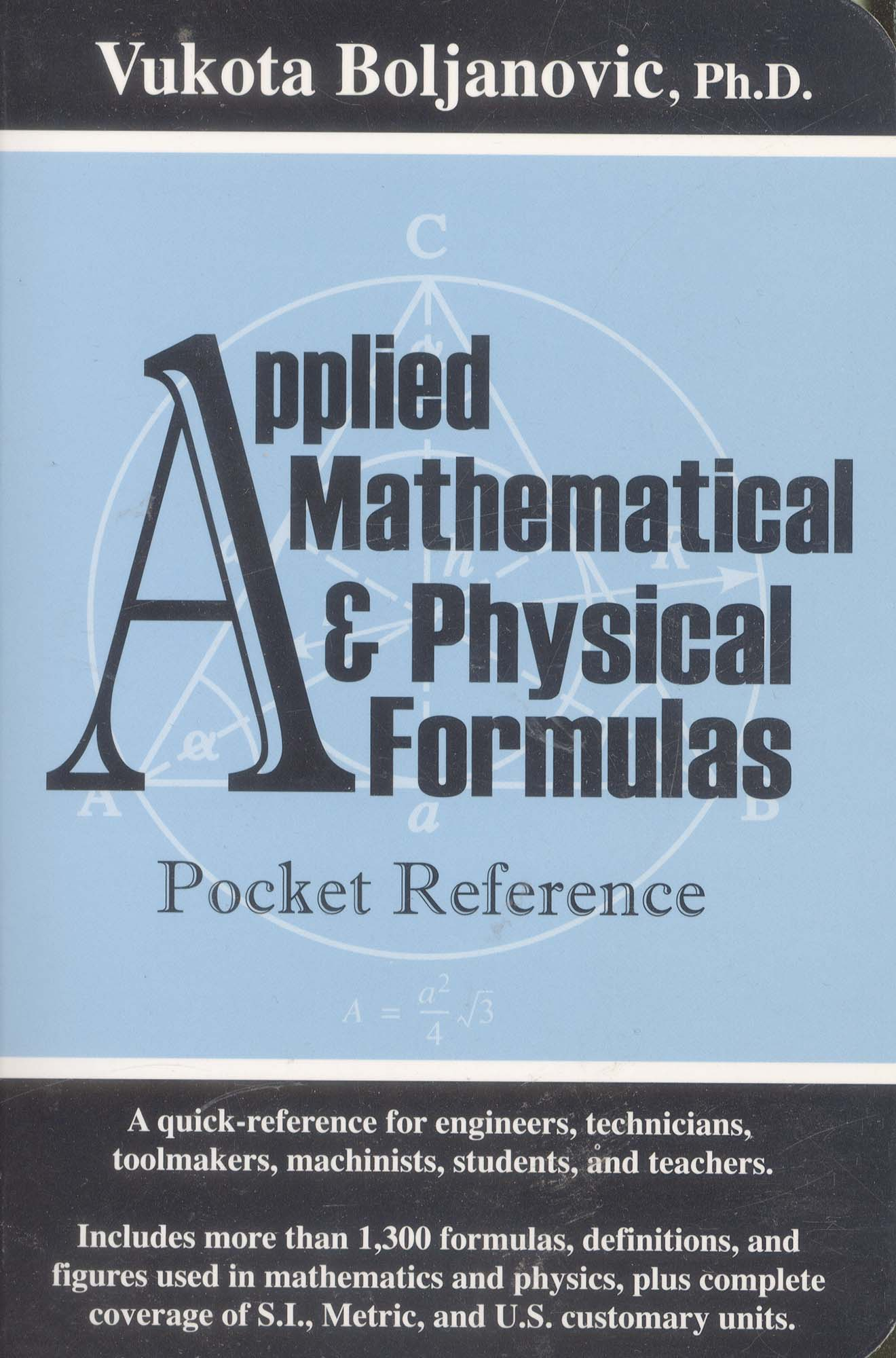 Book-Applied Math and Physical Formulas