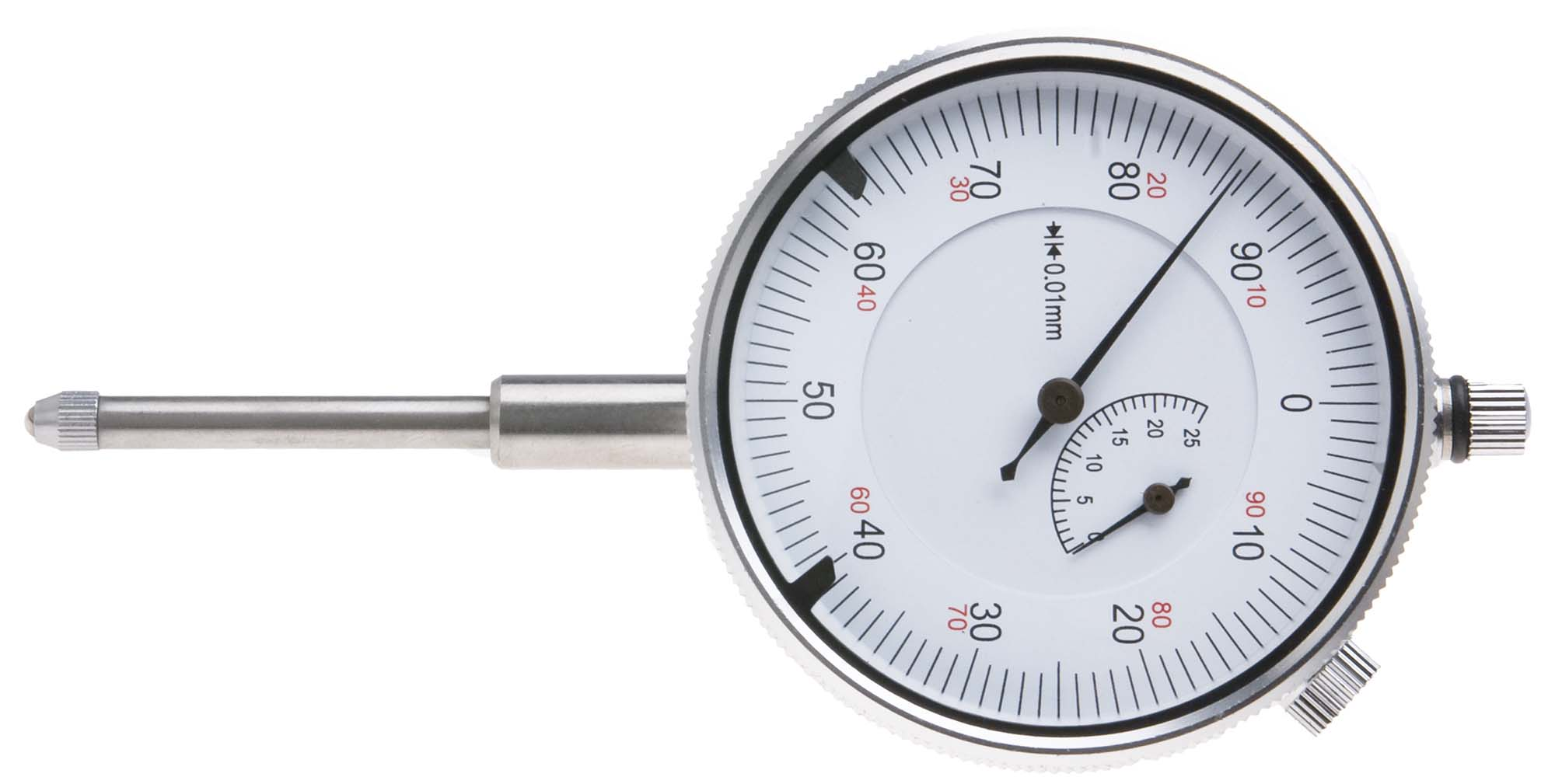 VDI-25M  25mm Dial Indicator, reads .01mm