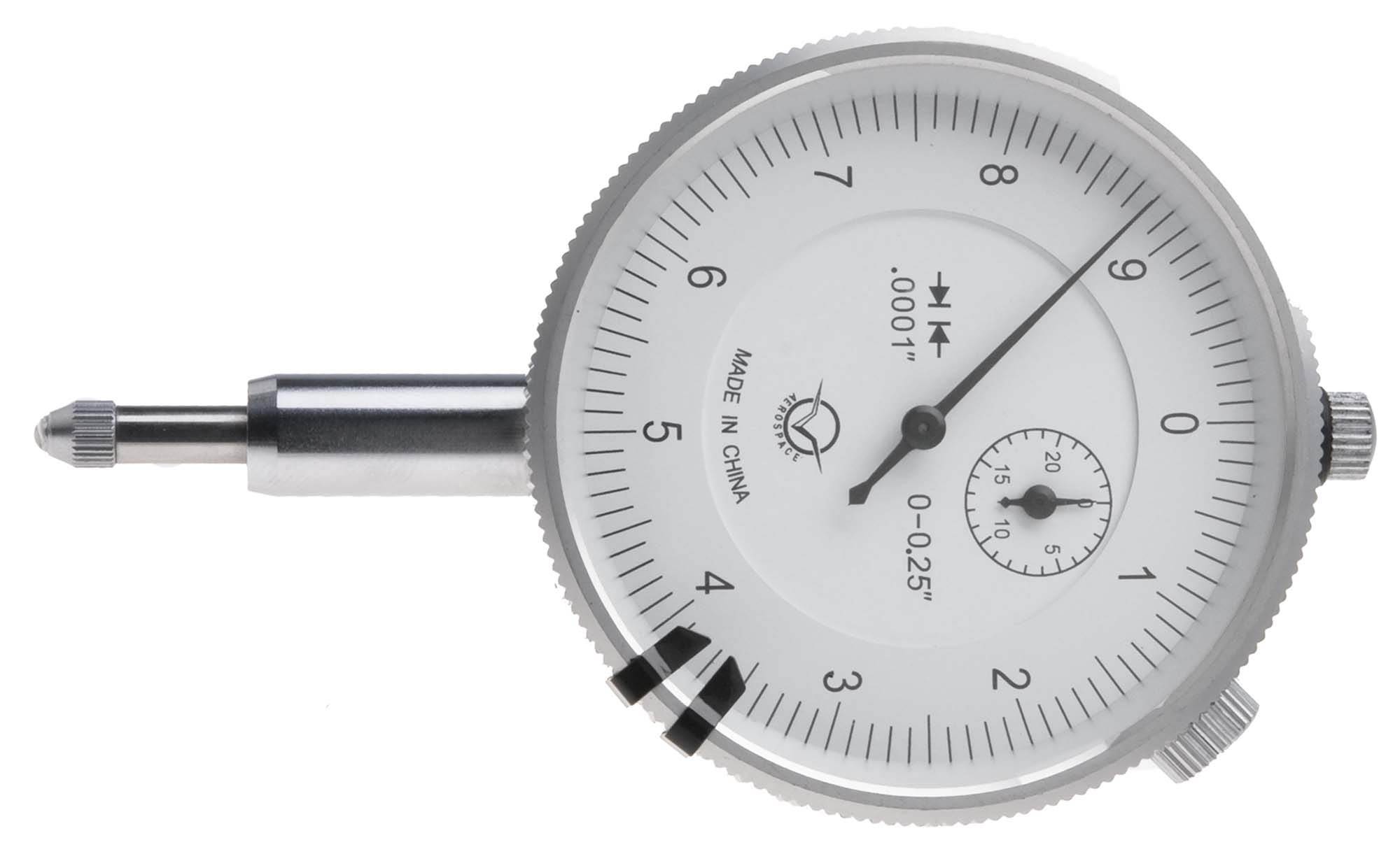 "VDI-30  1/4"" Dial Indicator, reads .0001"""