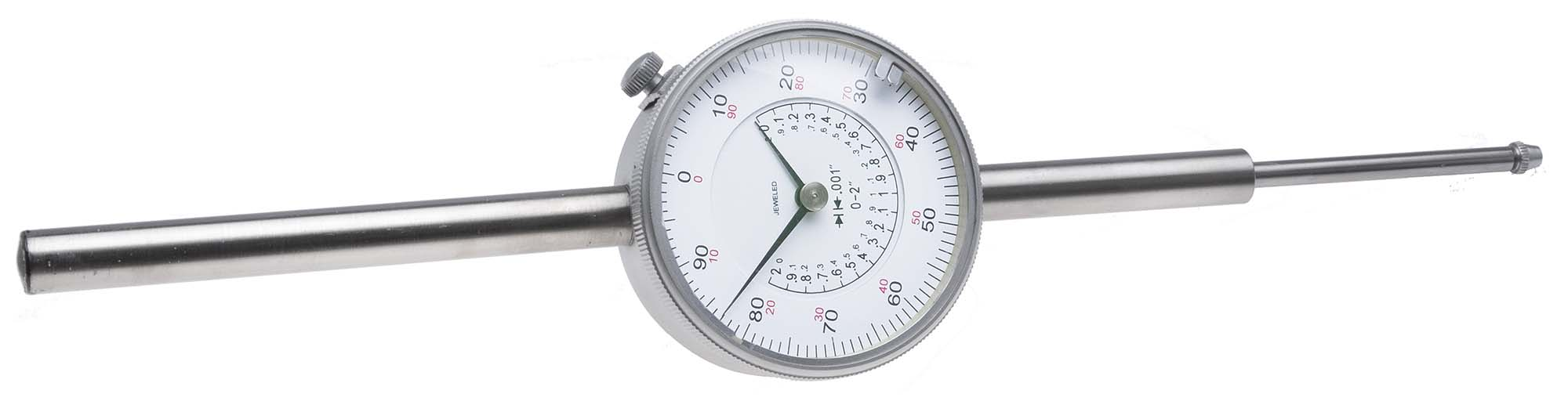 "VDI-4  2"" Dial Indicator, reads .001"""