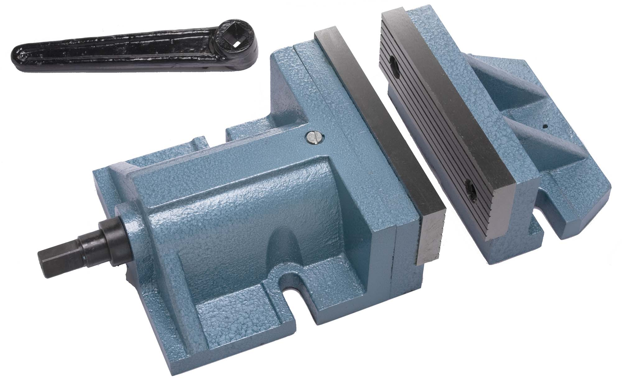 "VS-TP8  8"" Two Piece Milling Vise - 3-7/8"" jaw height"