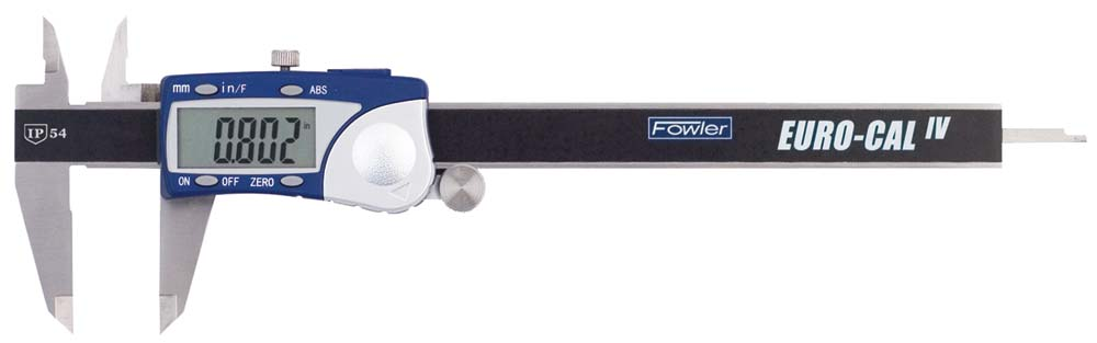 "Fowler 54-100-332 Euro-Cal IV 0-12"" Electronic Caliper"