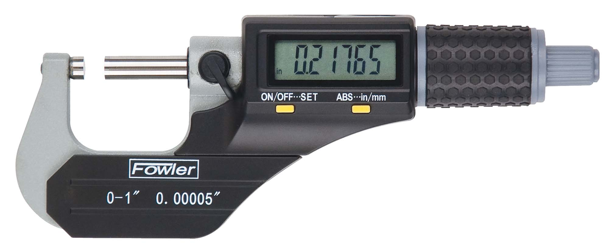 "Fowler 54-870-002 Xtra-Value II 1-2"" Electronic Micrometer"