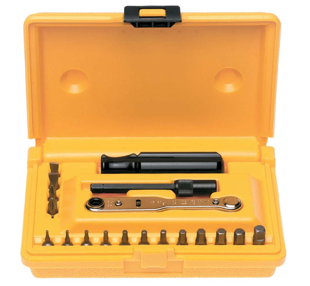 General 8078 19 Piece Ratchet Offset Screwdriver Set