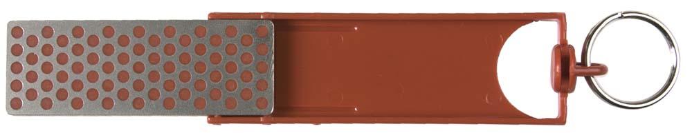 DMT F70F Fine Diamond Mini-Sharp-Red