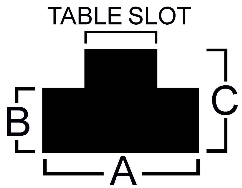 "TN-625  5/8"" T-Slot Nut - 1/2-13 Thread"