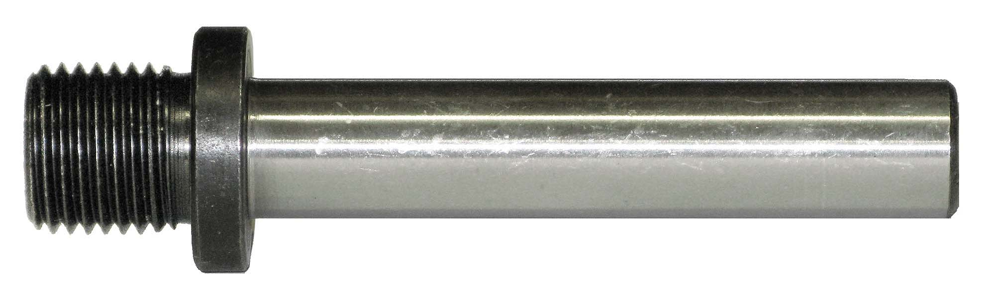"1/2"" Straight Shank to 5/8""-16 Threaded Drill Chuck Arbor"