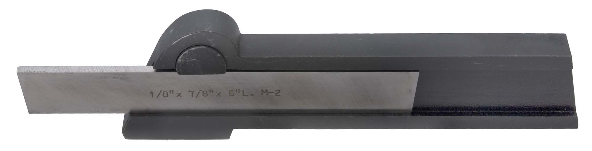 "1/2 X 1-1/8 Shank Straight Lathe Cutoff Tool Holder, holds 1/8 x 3/4"" Blades"