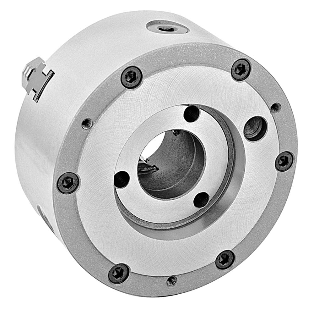 """Bison 7-801-1218 12 1/2"""" A-1-8 3-Jaw Universal Lathe Chuck with two-piece jaws"""