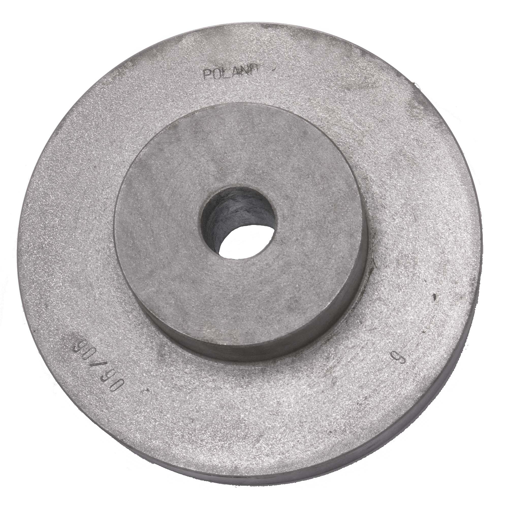 "Bison 7-870-108 8-1/4"" Unfinished Back Plate for Lathe Chucks"