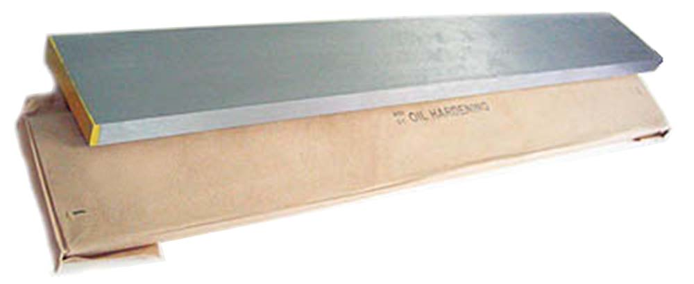 "1"" x 8""   Flat Ground Stock - O1 Tool Steel, 18"" Long"