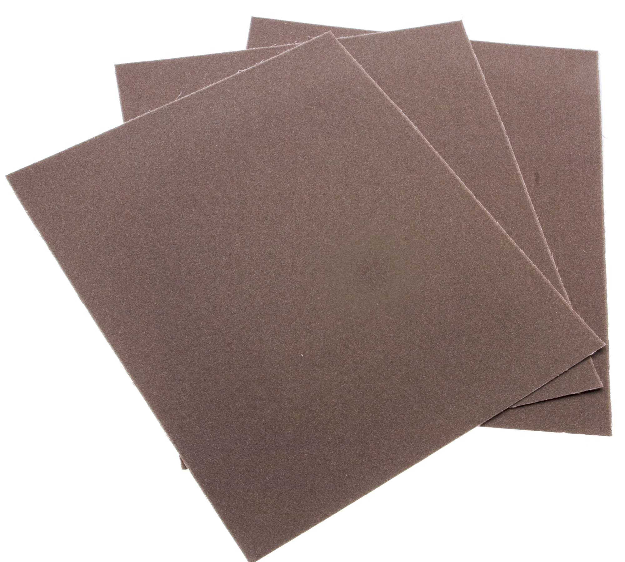 180 Grit 9 x 11 Import Aloxite Sheets (50)