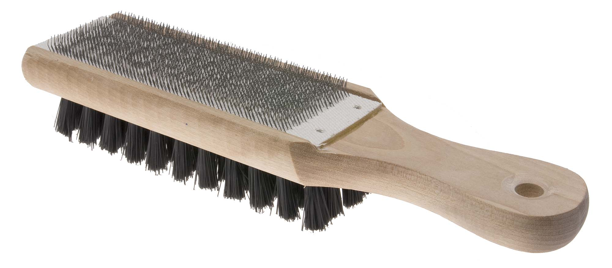 Lutz 20 File Card and Brush