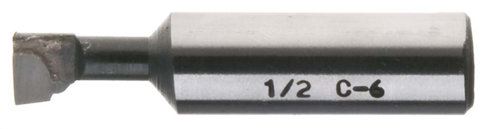 "BBCA-1-J  1"" Carbide Tipped Boring Bar, 1-1/2 min. bore, 8 1/4"" long"