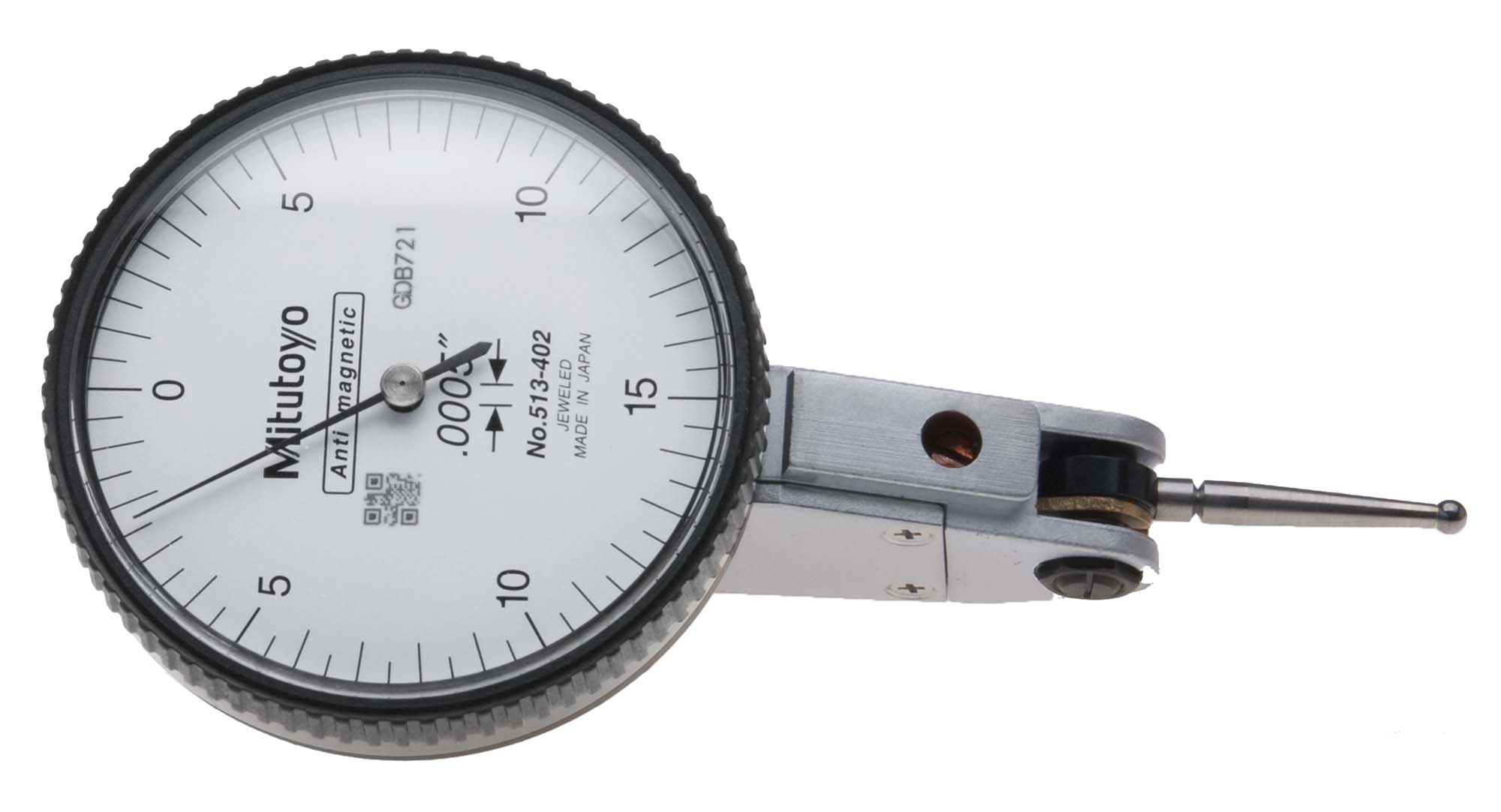 "Mitutoyo 0.0005"" Dial Test Indicator w/ACC-IH22 quill holder"