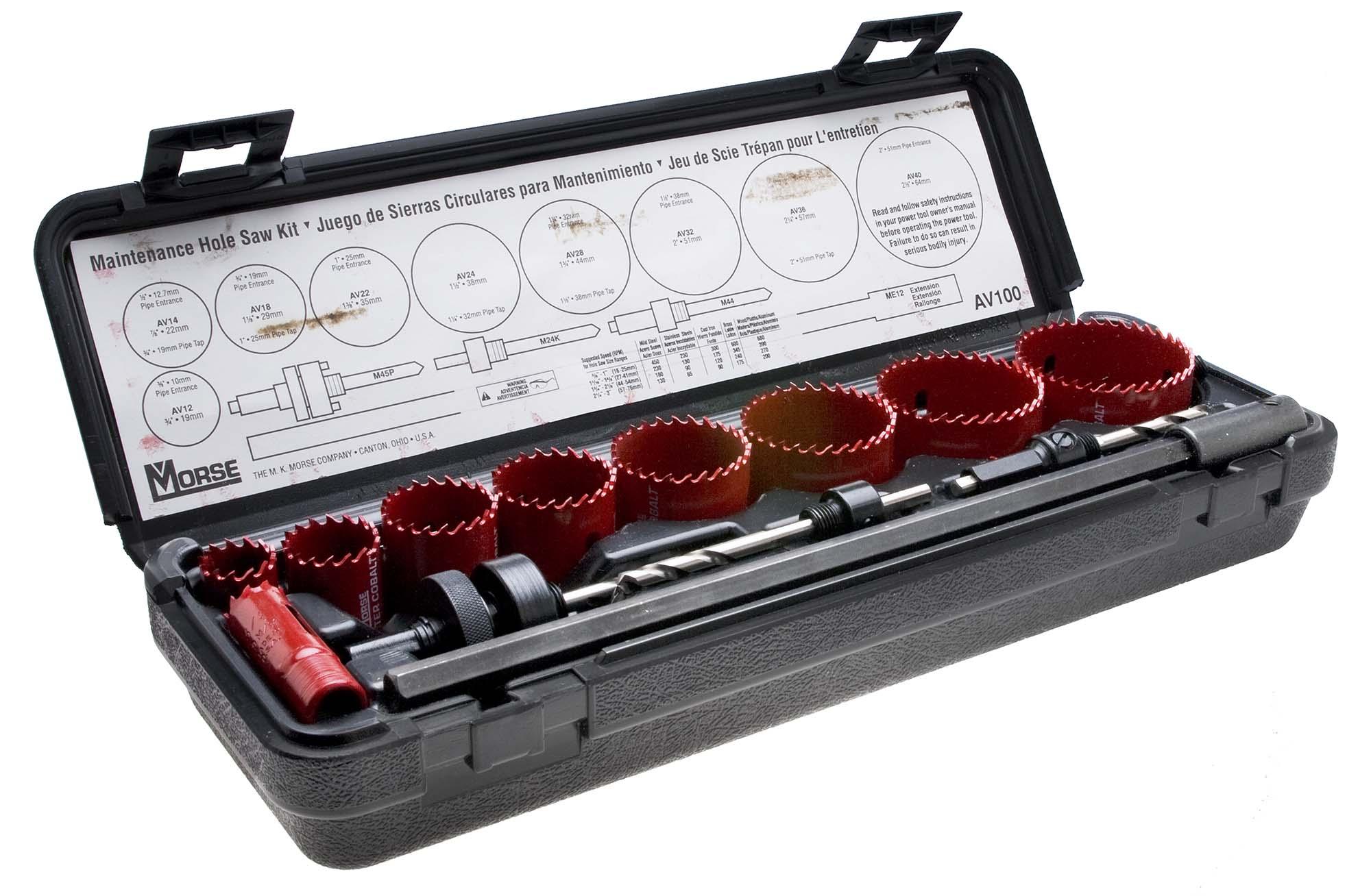 MK Morse Hole Saw Maintenance Kit