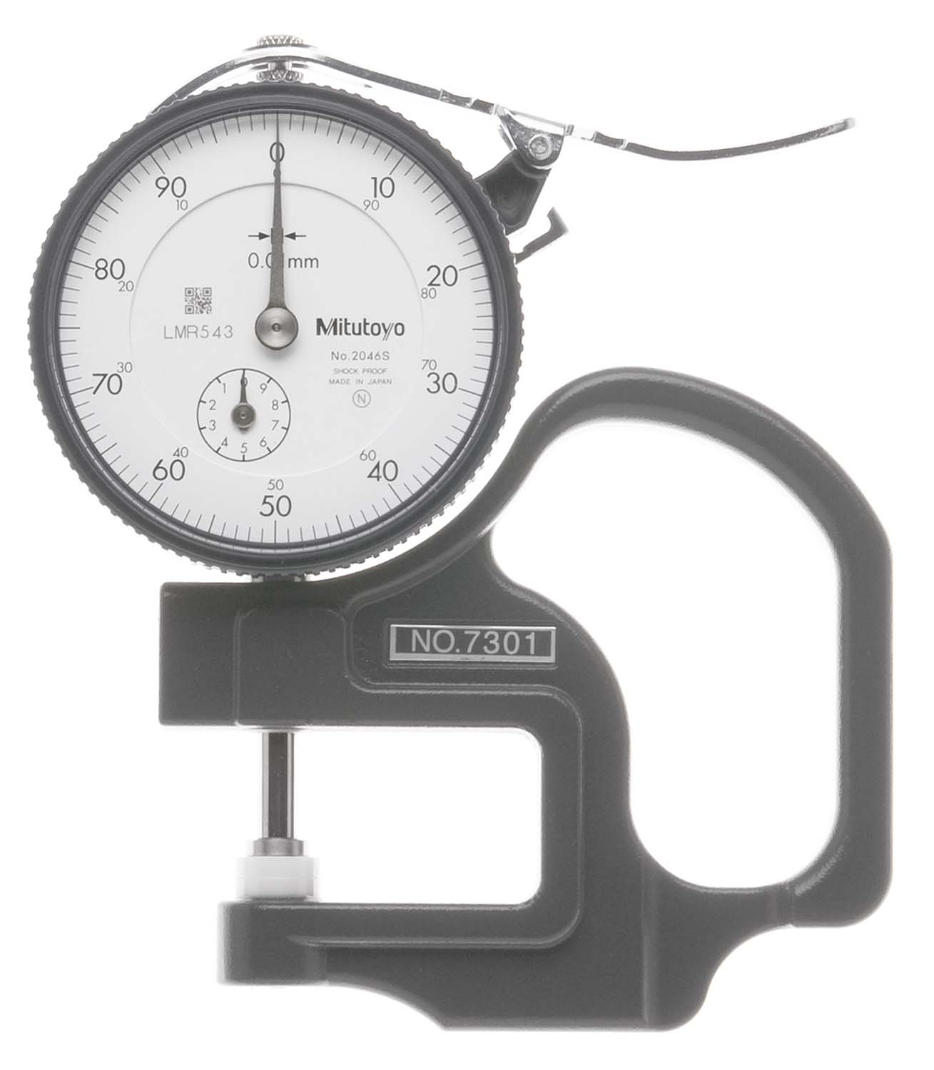 10mm Mitutoyo 7301 Dial Thickness Gage