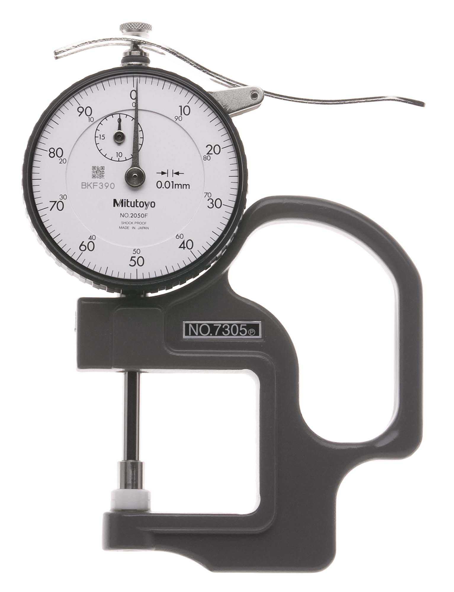 20mm Mitutoyo 7305 Dial Thickness Gage