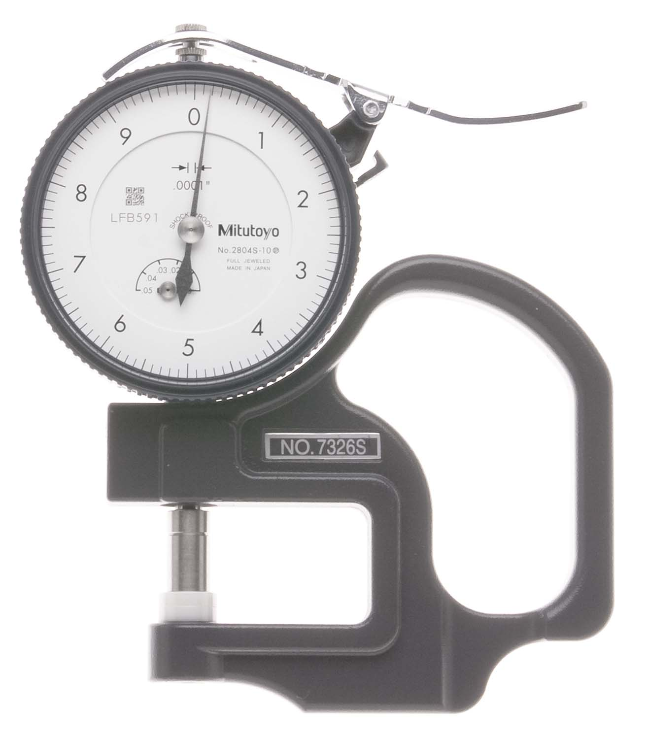".050"" Mitutoyo 7326 Dial Thickness Gage"