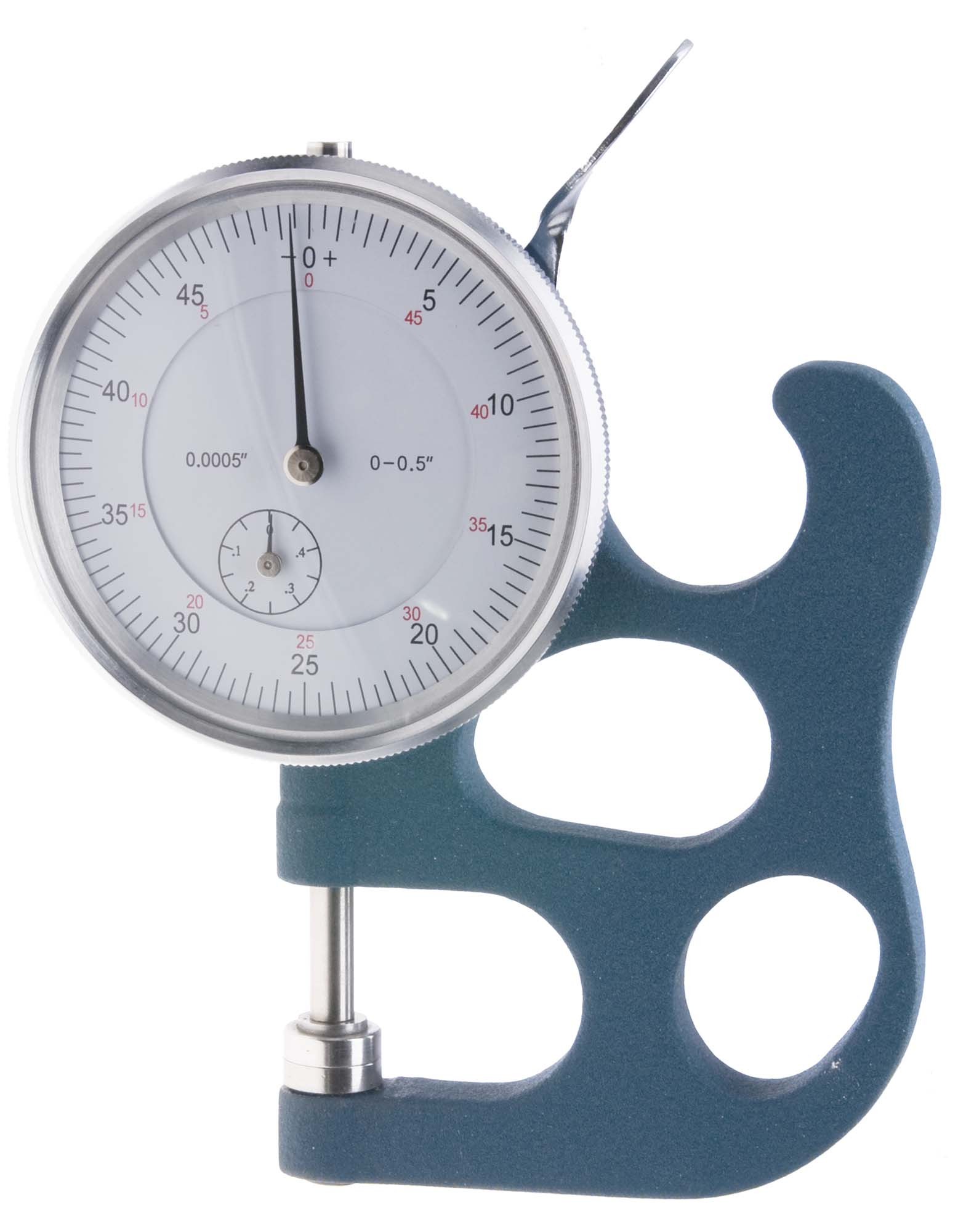 "TG-500 .500""  Dial Thickness Gage, reads .001"""