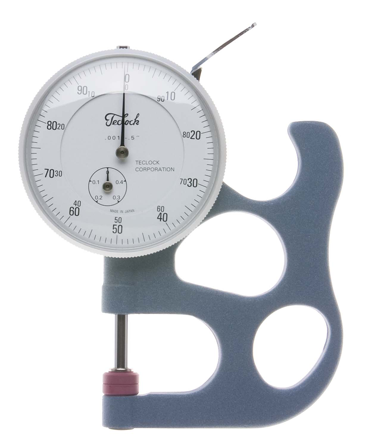 ".500"" Teclock Dial Thickness Gage"