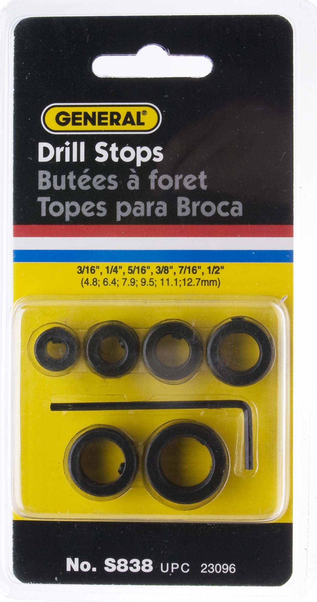 General S838 Drill Stop Set